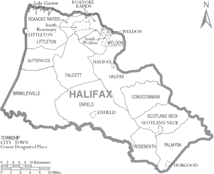 halifax-county-map